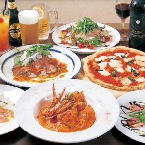 食べ放題が嬉しい!!イタリアンでパーティー♪