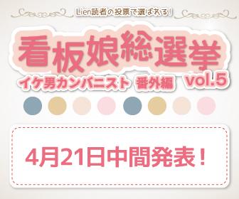 【4月21日時点】看板娘総選挙 Vol.5 中間発表