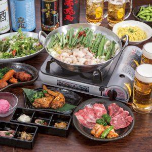 本格もつ鍋と焼き肉が食べたいなら魚津市の『円笑』!!