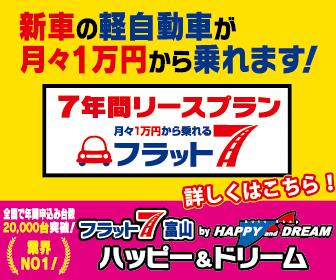 新車の軽自動車がなんと「月々1万円!!」で乗れちゃう☆